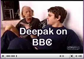 deepak on BBC TV